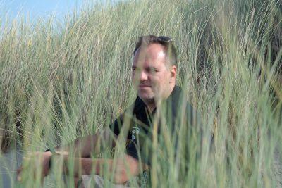 Marcus in den Dünen