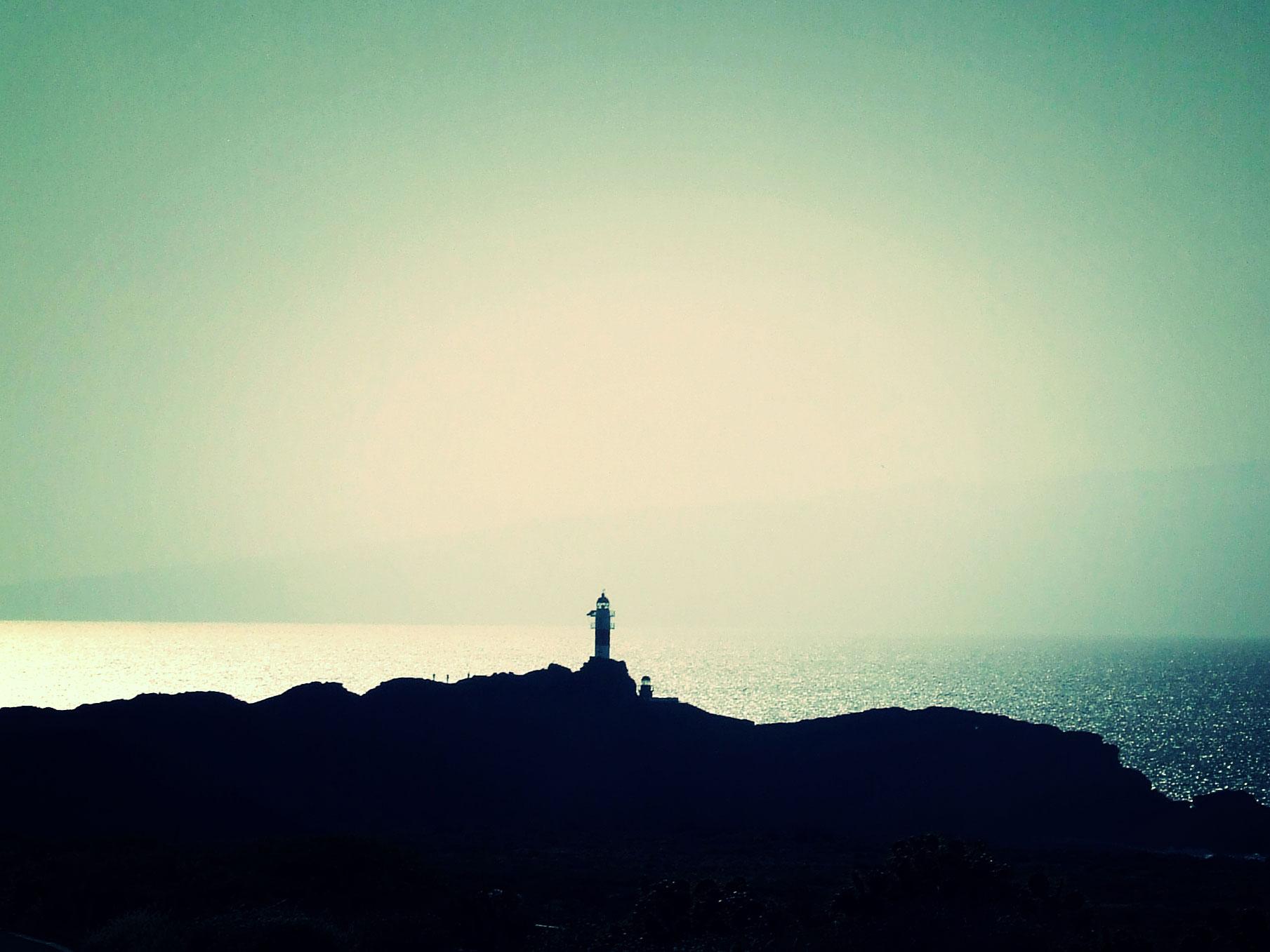 Leuchtturm am Punta de Teno, Teneriffa