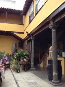 Innenhof des Sabor Canario